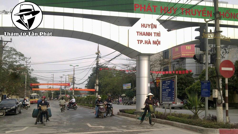 Thám tử Huyện Thanh Trì Hà Nội