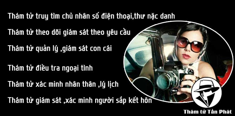 Dịch vụ thám tử uy tín, chuyên nghiệp tại Huyện Đình Quán Đồng Nai