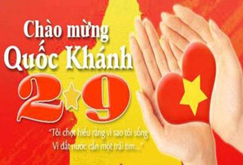 chào mừng 74 năm ngày quốc khánh nước Việt Nam