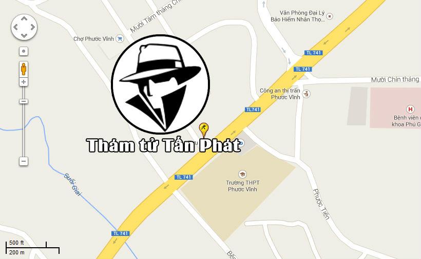 Thám tử huyện Phú Giáo tỉnh Bình Dương